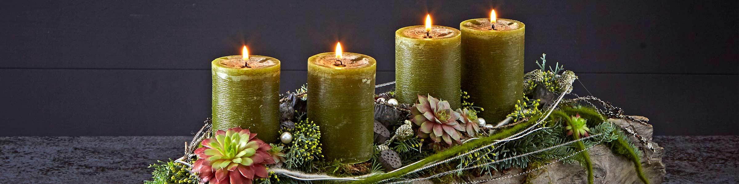 Traumhafte Adventsgestecke online bestellen | Dehner