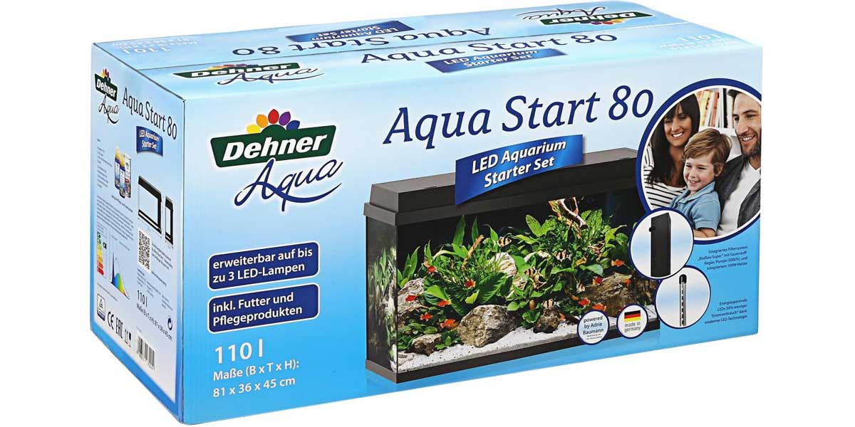 LED Starter-Set Dehner Aqua Start 80