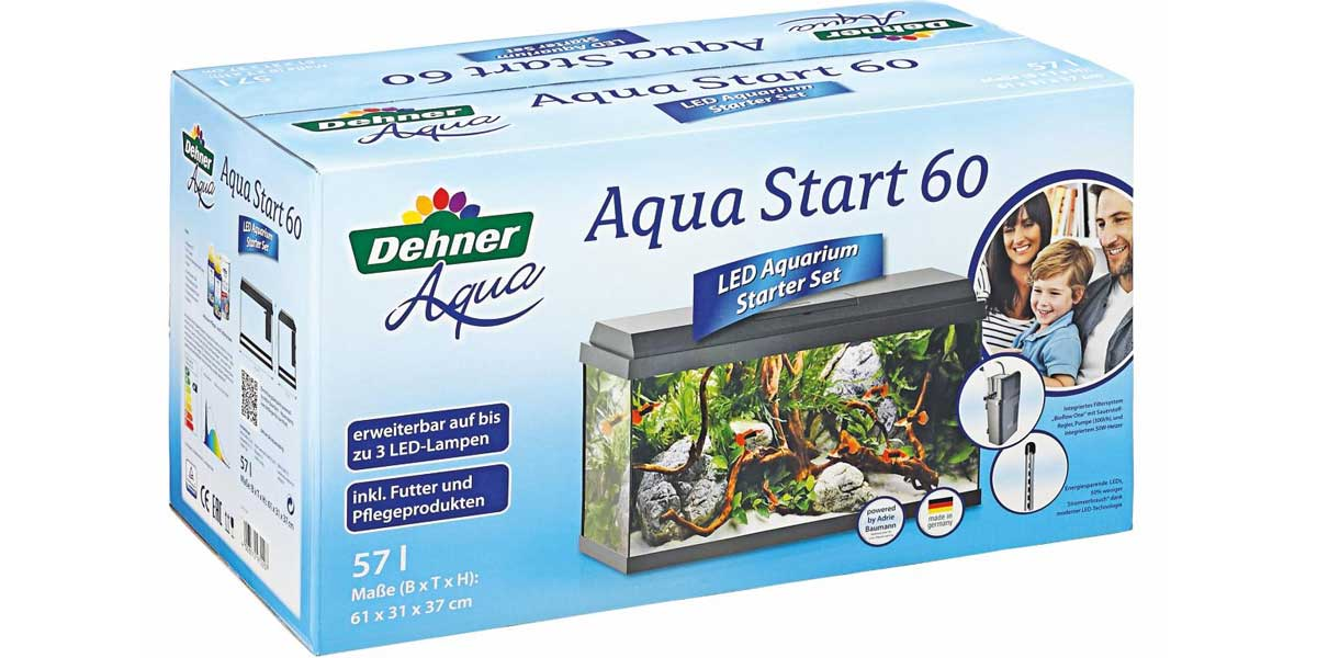 LED Starter-Set Dehner Aqua Start 60