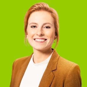 Personalbotschafterin Larissa als Profilbild