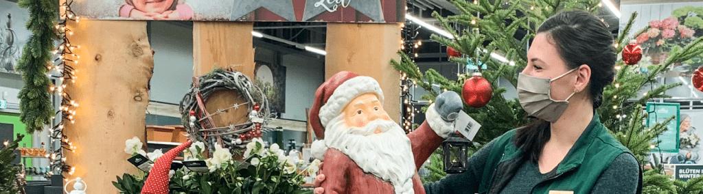 Susanne Weihnachten Dehner Markt