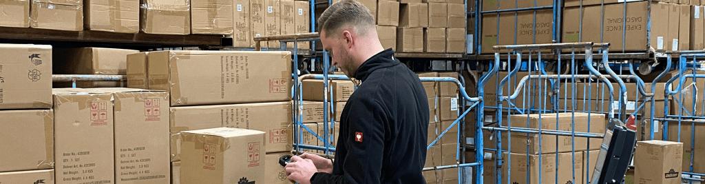 Wareneingang Logistik Gartenmöbel Dehner Fachkraft für Lagerlogistik Vorarbeiter