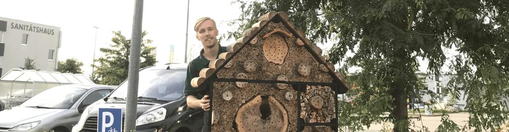 Vogelhaus Insektenhaus Ausbildung Kaufmann im Einzelhandel Handelsfachwirt Dehner