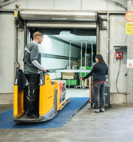 Dehner Logistik Nachhaltigkeit Prozesse im Wandel Arbeitswelt effektive Prozesse