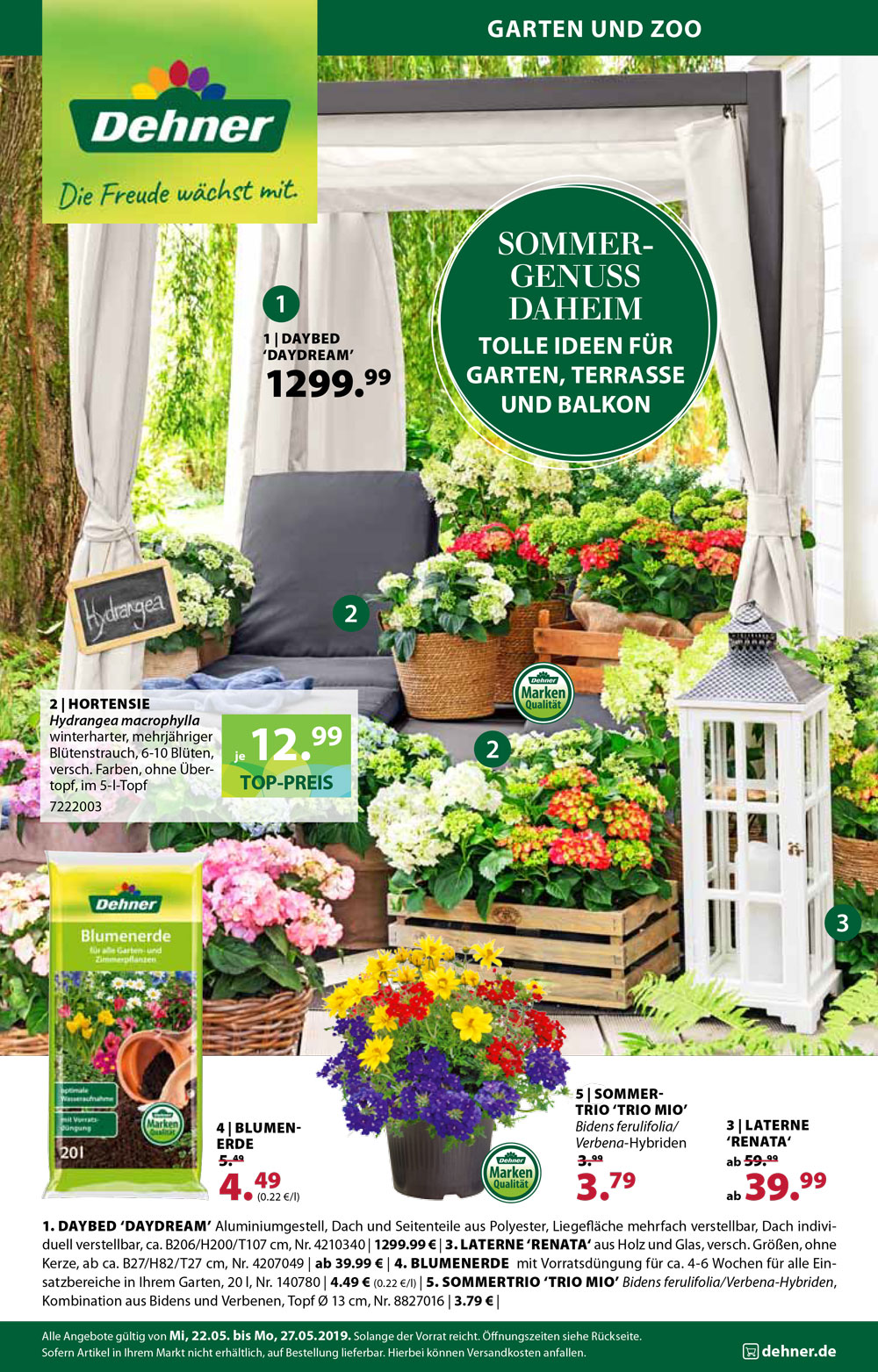 Prospekte Kataloge Magazine Dehner