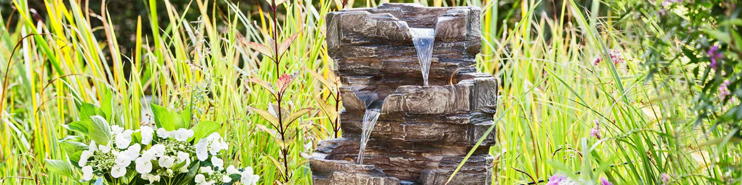 gartenbrunnen online in dehner markenqualität | dehner