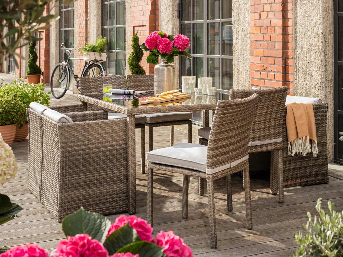 Gartenmöbel Aus Kunststoff Oder Polyrattan