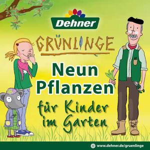 Neun Pflanzen für Kinder im Garten